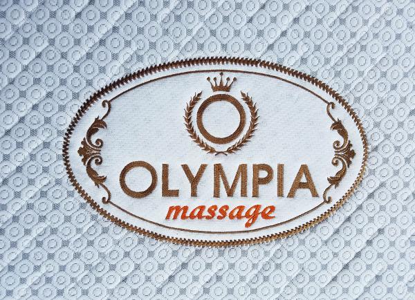 Đệm bốn mùa Olympia massage vải gấm xốp